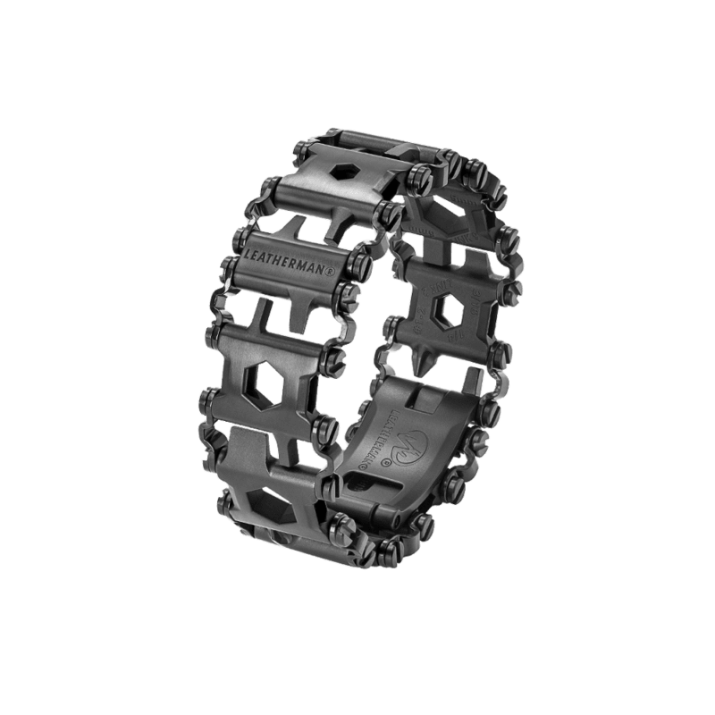 PULSERA LEATHERMAN TREAD BLACK